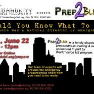 Prep2Bless In Plano, June 22